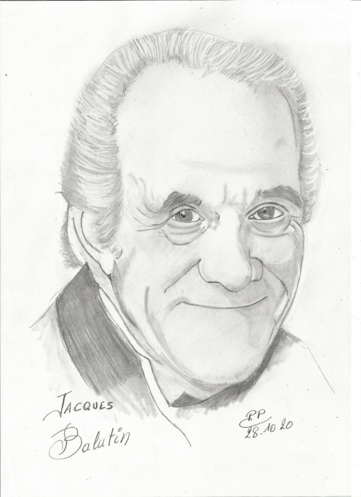 Jacques Balutin por Patoux